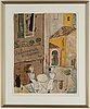 Madeleine pyk, lithograph in colours, signed 2226/5000.