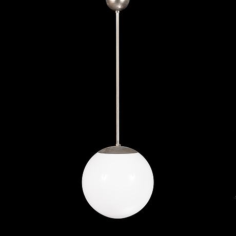 Paavo tynell, a 1950's '1602' pendant light for idman.