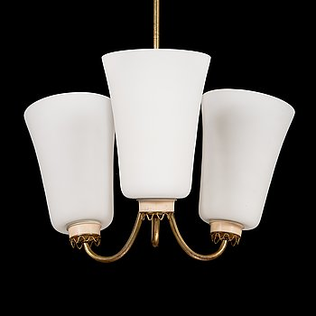Lisa Johansson-Pape, a mid 20th century '211-3' pendant light for Stockmann Orno.