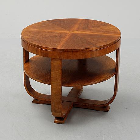 Soffbord, art deco-stil, 1900-talets andra hälft.