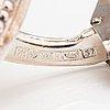 "A pair of sterling silver cufflinks ""halikko cufflinks"", model 212. kalevala koru, helsinki 1971."