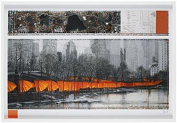 "427. Christo & Jeanne-Claude, ""The Gates, Central Park, New York.""."