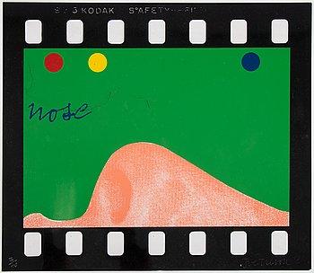 Joe Tilson, serigraph in colors/résine synthetique, 1968, signed 7/40.