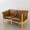 An second half of 20th century sofa 'illona' by arne norell.