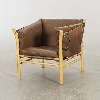 An 'Illona' easy chair by Arne Norell. Second half of 20th century.