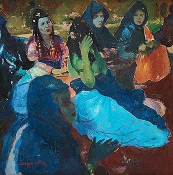 635. Jacques Majorelle, Dancers in Goulimine.