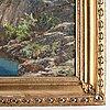 Eduard bechteler, signed. dated -29. canvas 68 x 94.5 cm.