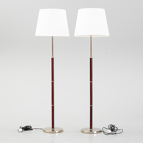 A pair of floor light. end of the 20th century.