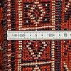 A carpet, kashgai, ca 255 x 162 cm.
