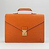 Louis vuitton, 'ambassador' briefcase.