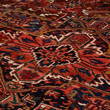 A carpet, semi-antique/old heriz/gorovan, ca.