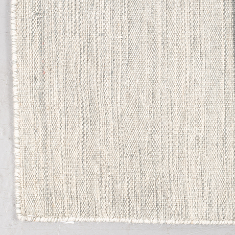 A rug, flat weave, ca 230 x 160 cm.