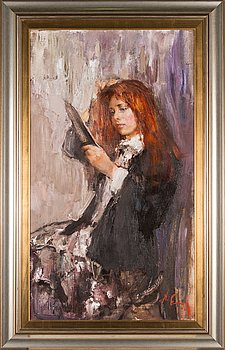 Nikolai Blokhin, oil on canvas, signed.