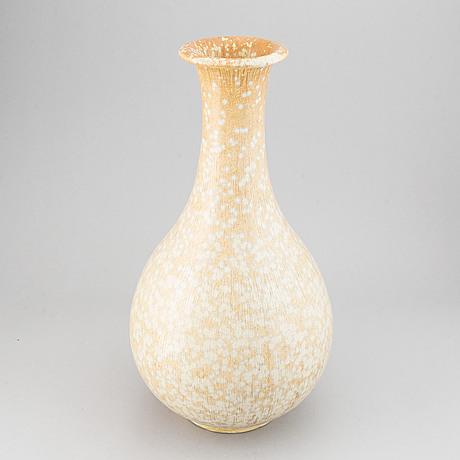 Gunnar nylund, a stoneware vase for rörstrand, signed.