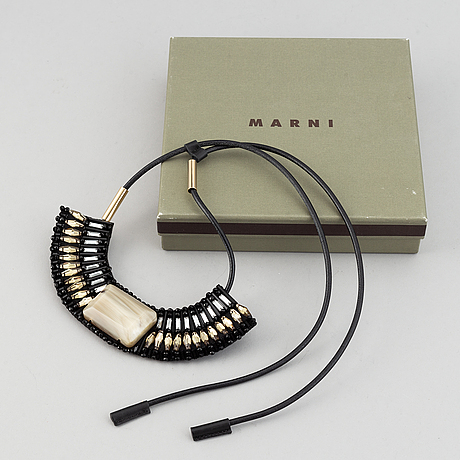 Marni, necklace.