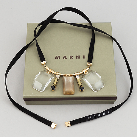 Marni, necklace.
