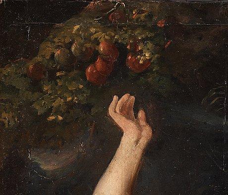 Unknown artist, 17/18th century, oil on canvas.
