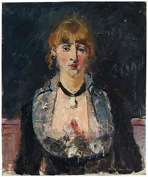 678. Peter Dahl, Study after Manet.