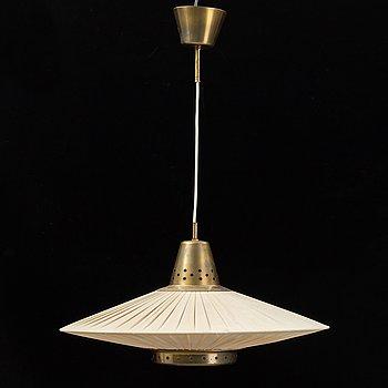 A Swedish Modern ceiling lamp, 1940'/50's.