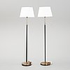 A pair of floor lamps from falkenbergs belysning in the second half of the 20th century.