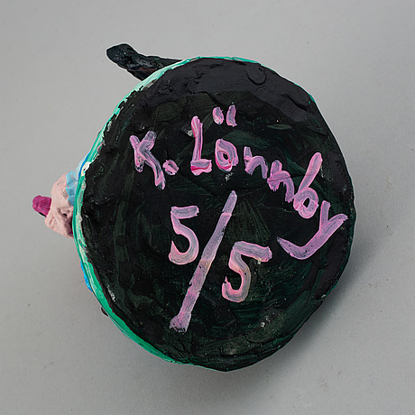 Katarina lönnby, sculpture signed and numbered 5/5.
