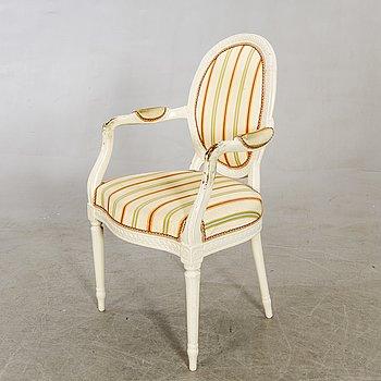A late Gustavian armchair.