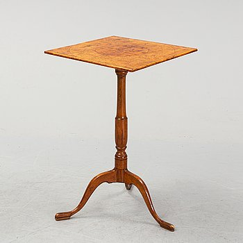 A Swedish  early 19th century folding table.