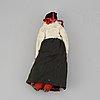 A circa 1900 bisque head doll.