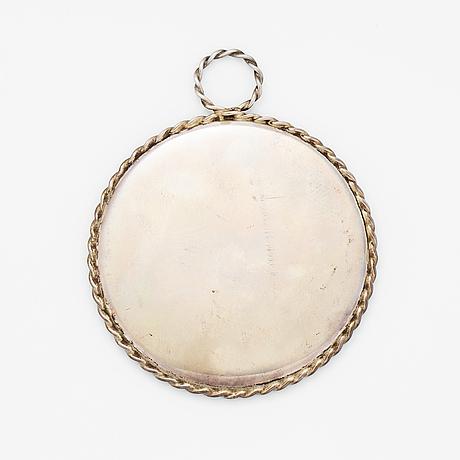 Small mirror, tiffany & co, silver.