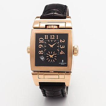 De Grisogono, Doppio tre, wristwatch, 36 x 35.5 mm.