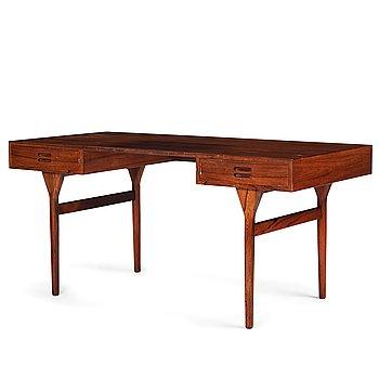 421. Nanna Ditzel, a freestanding desk by Søren Willadsen, Denmark 1960's.