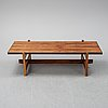 A danish palisander 1960s sofa table.
