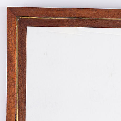 A 19th century mirror.