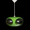 """A 1960s ceiling lamp """"ufo"""" from massive, belgium."""