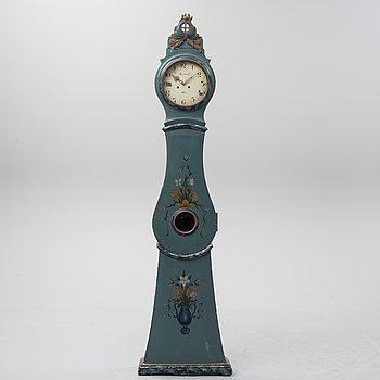 A 19th century longcase clock.