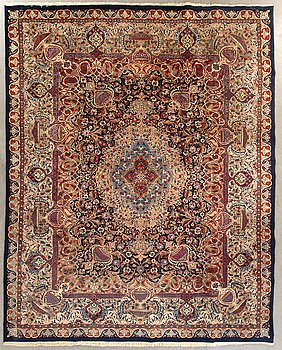 Matta Kashmar old ca 390 x 298 cm.