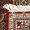 An old part silk tabris approx 206 x 142 cm.