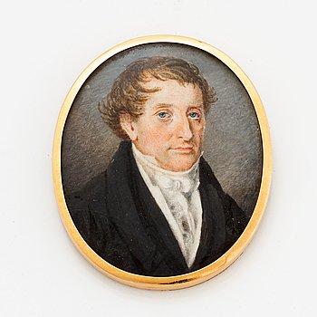 Miniature portrait.