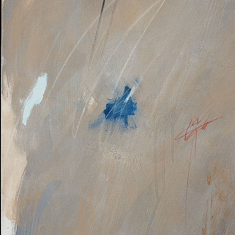 Lennart aschenbrenner, oil on canvas, signed and dated -83.