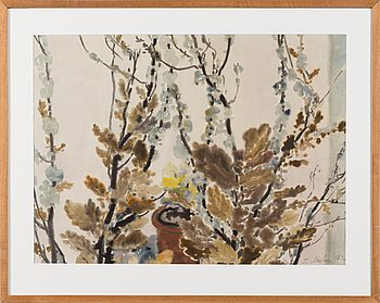 Gavriil Malysh, watercolour, signed and dated -69.