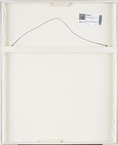 Sten eklund, etching with watercolour, 1988, signed pt 1/2.