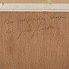 C göran karlsson, tempera på papper, signerad och daterad -08.