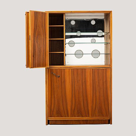 A bar cabinet by boo d:son widén, mid 20th century.