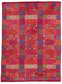 "230. Marianne Richter, a carpet, ""Fläkten"", knotted pile, ca 497-498,5 x 367-372 cm, signed AB MMF MR."