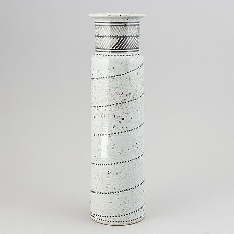 Jackie lynd, stoneware vase, rörstrand.