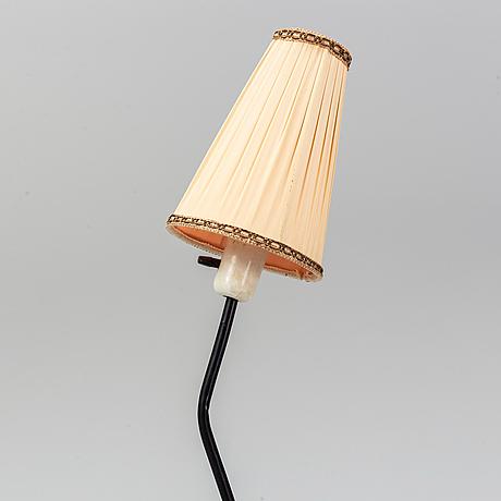 A 1950's-60's floor lamp.