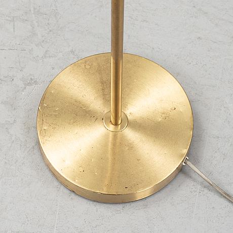 A brass floor light, boréns, borås, 1960's.