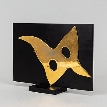 Jean Arp, sculpture, multiple, brass, stamped signature 215/300.