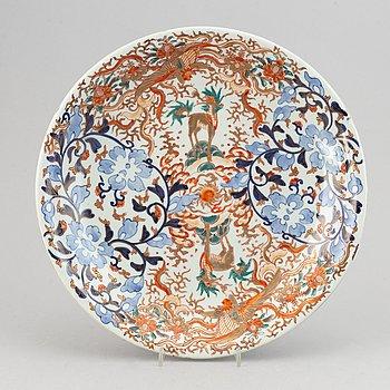 A Japanese porcelain dish, Meiji (1868-1912).