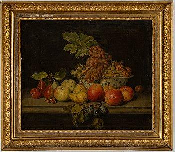 Johan Samuel Beck, hans krets, olja på duk, bär signatur.
